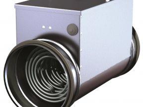 Для вентиляции новые трубы электронагреватель