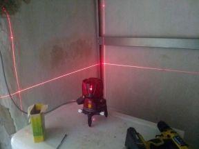 Лазерный уровень. Невелир. 8 линий 9 точек