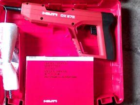 Пороховой монтажный пистолет Хилти DX E72