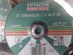 Диски шлифовальные по металлу hitachi
