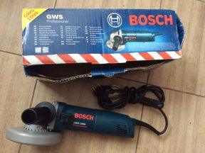 Bosch GWS-1000 болгарка маленькая 125 мм Bosch GSR