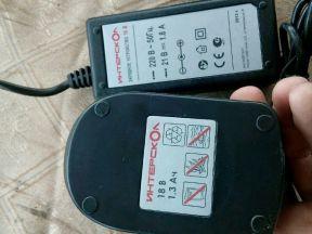 Батарея 18в и зарядка Интерскол новые