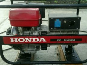 Бензогенератор Хонда EC 6000