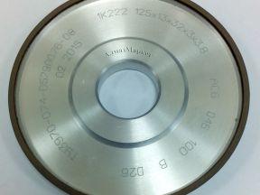 Алмазный шлифовальный круг 1К222 125х13х32х3х3.8