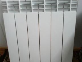 Алюминевый Радиатор Б,У в хорошем состояний