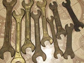 Ключи рожковые искро безопасные