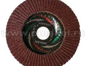 Круг диск лепестковый зачистной
