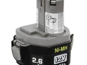 Аккумуляторы макита 12v 2.6a/ч (makita 1234)