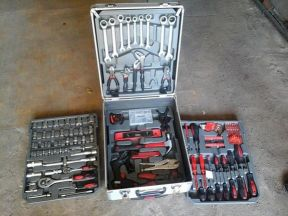 Кейс с инструментами 186 предметов