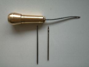 Шило сапожное мини - ножницы