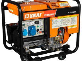 Надежный дизельный генератор Skat угд-6000Е