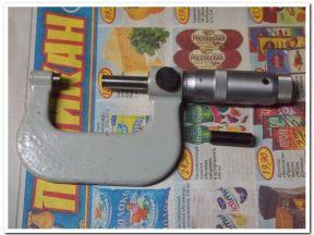 Микрометр гладкий мк 25-50 мм. (0.01 мм)