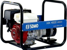 Бензиновый генератор sdmo HX 4000-С новый