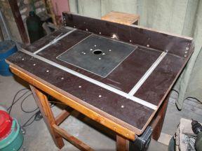 Фрезерный стол, для ручного фрезера
