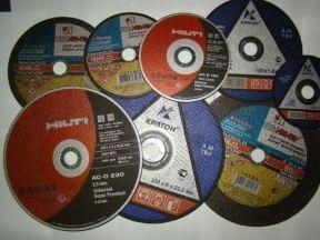 Круги(диски) отрезные(шлифовальные), пильные