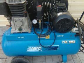 Компрессор abac B 5900B/400,4 kwt Италия