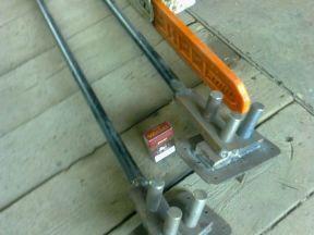 Ручной станок для гибки арматуры 16 мм