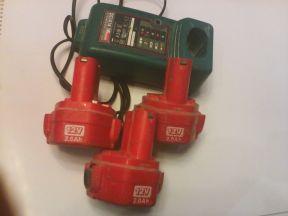 Аккумулятор NI-CD для шуруповерта Makita и зарядка