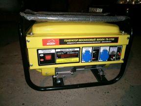 Бензиновый генератор бизон 2700