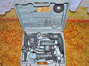 Набор электроинструмента в кейсе 4 предмета