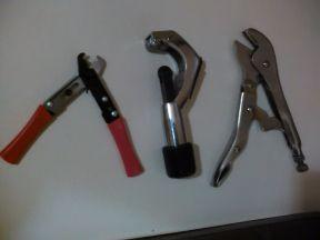 новые ножнецы труборез и отсечка,медных тру