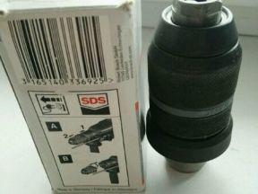 Быстрозажимной сверлильный патрон Bosch 2608572212