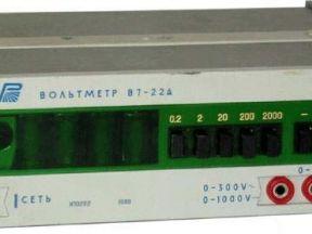 Вольтметр универсальный В7-22А
