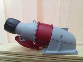 Силовая розетка и вилка ABB 380v 16A (трехфазные)