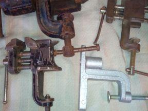 Тиски Инструмент Свёрла