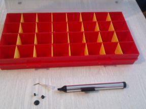 Ящик для мелочей и вакуумный съемник