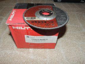 Диск отрезной по металлу hilti - 125x2,5x22 Ап