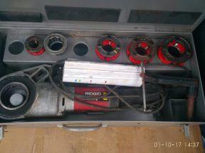 Ridgid 690 клупп профессиональный электрический