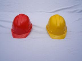 Каски строительные разные