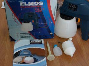 Краскораспылитель электрический Elmos PG-12
