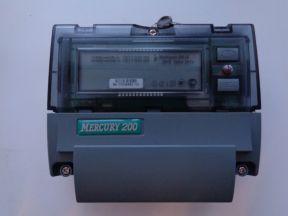 """Электрический счетчик """"Меркурий"""" 200.02"""