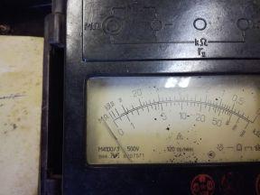 Мегаомметр 4100/3