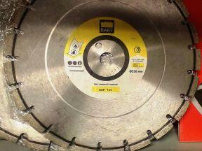 Алмазный диск серия ASF 710 диаметр 350 мм