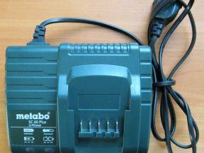 Зарядное от Metabo (6 моделей)