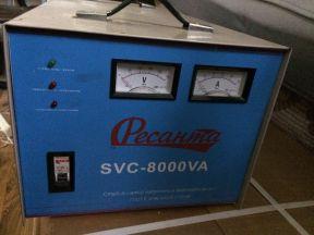 Стабилизатор напряжение Ресанта SVC-8000