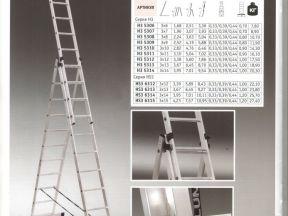 Лестницы, стремянки, трансформеры алюмет