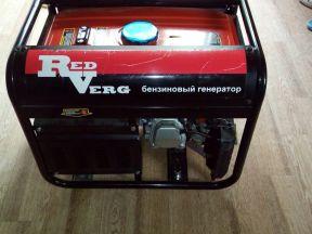 Генератор бензиновый RedVerg RD-G3900EN