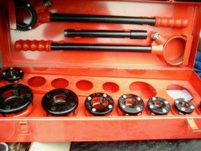 Клупп ручной для нарезки резьбы virax 1362