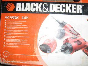 Аккумуляторная реверсивная отвёртка BlackDecker