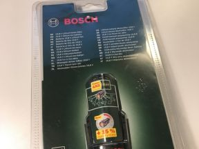 Аккумулятор bosch 10.8В 1.5Ач новый