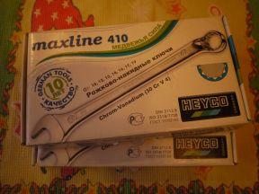 Рожково-накидные ключи Heyco maxline 410 Медвежья