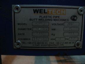 Аппарат для сварки полиэтиленовых труб weltech-315