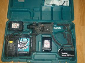 Аккумуляторный перфоратор makita DHR202