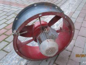 Вентилятор осевой 3-х фазный