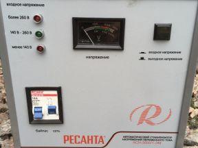Стабилизатор напряжения Ресанта асн-3000/1-эм