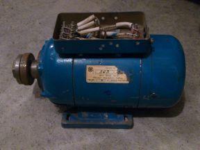 Эл. двигатель 24 В (наждак)